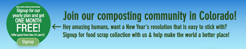 Colorado Composting New Year's Special for 2020