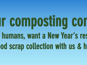 Colorado Composting New Year's Resolution Special