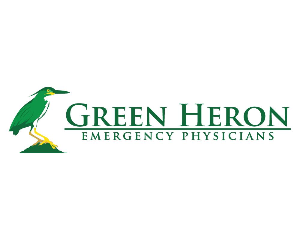 Green Heron Emergency Physicians Logo
