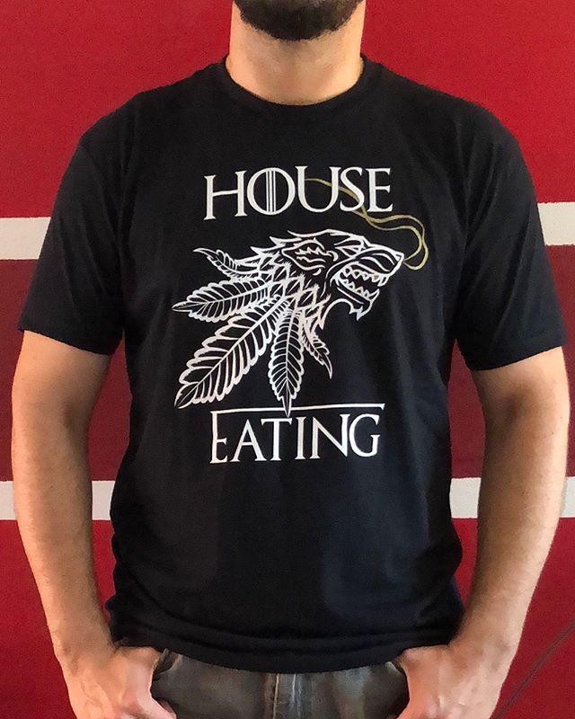 House Eating tee IRL.