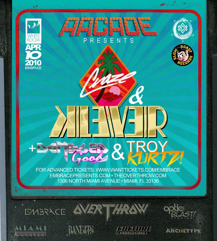 Arcade Presents Craze & Klever - Poster Art