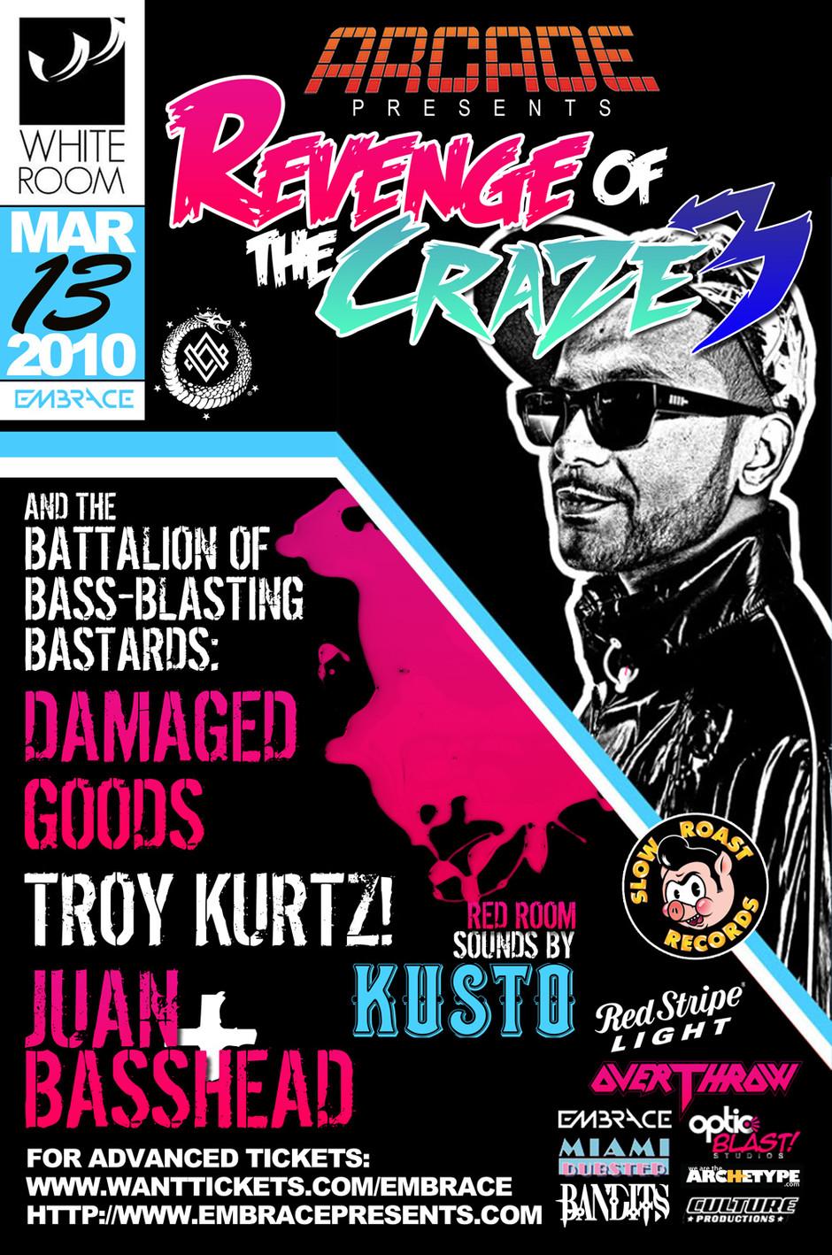 Revenge of the Craze 3 - Poster Art