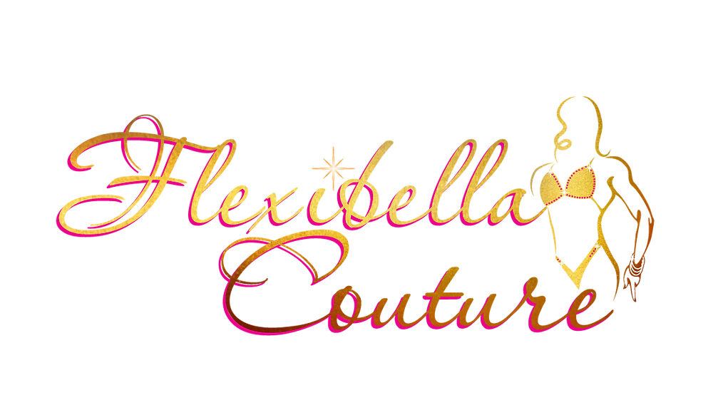 Flexibella Couture logo by Joey Funk of Optic Blast! Studios