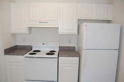 Kitchen, 1 Bedroom Unit