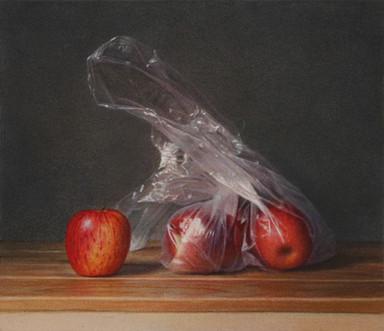 Apples & Plastic Bag