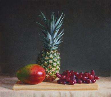 Mango, Pinapple & Grapes
