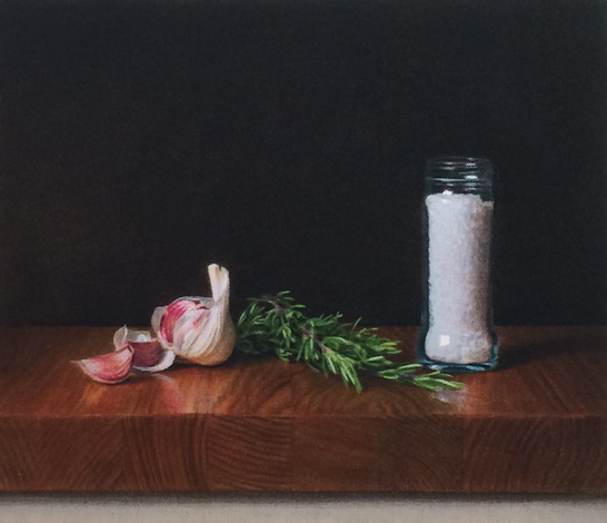 Garlic, Rosemary & Salt