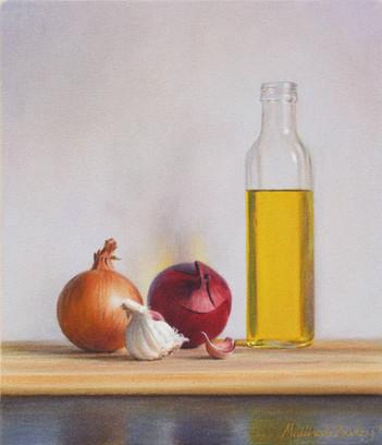 Onions, Garlic & Olive Oil