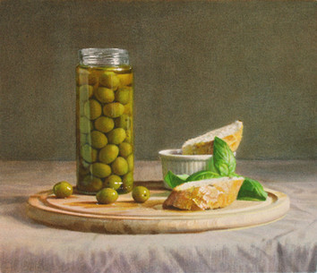 Olives, Bread & Basil