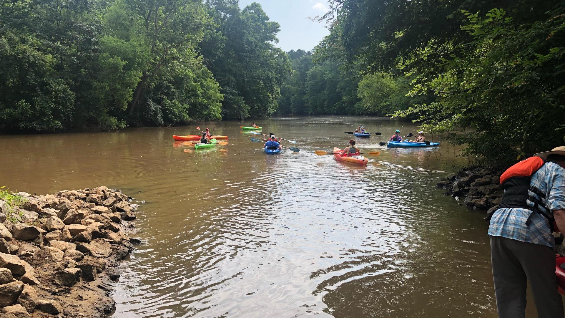 June 16, 2018 - LRWT Tour with Mill Pond Kayak