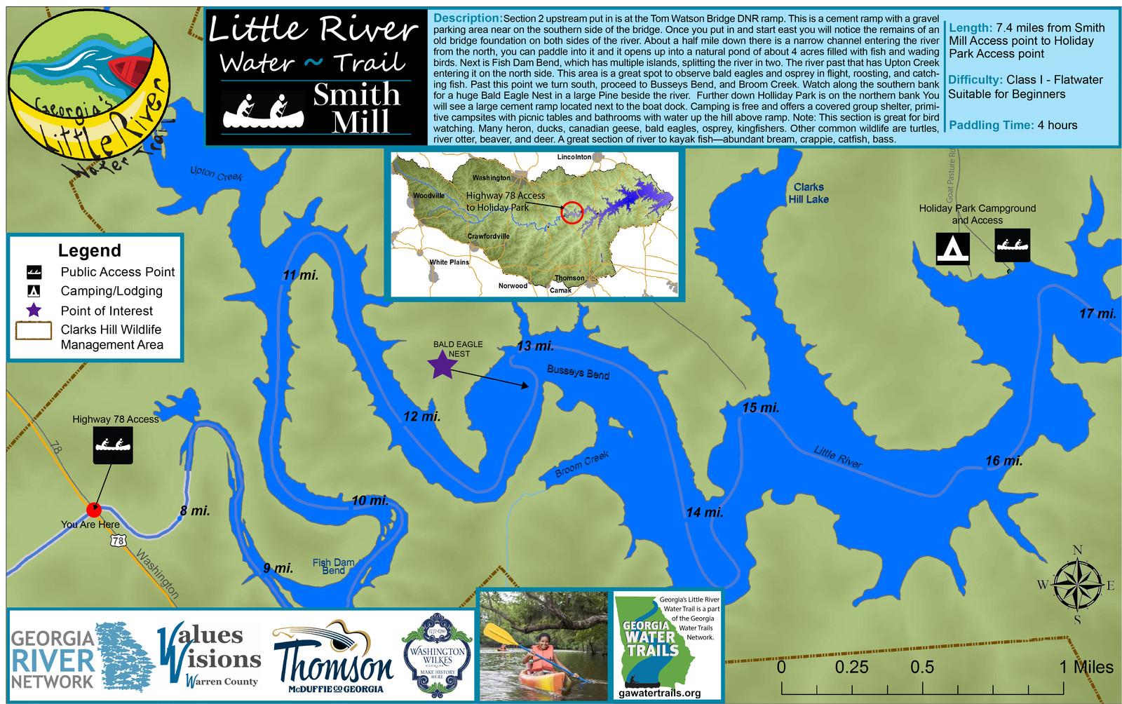 Ga Little River Water Trail Maps