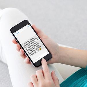 Maintenez le lien avec vos patients en dehors des RDV grâce aux SMS de conseils