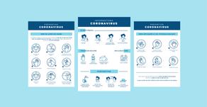 Coronavirus : des affiches d'information et de prévention à destination des patients