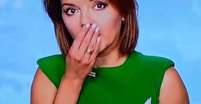 Vidéo : une présentatrice de JT perd une dent en plein direct et continue l'air de rien