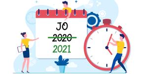 JO : nous devrons attendre 2021...