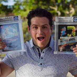 Ce dentiste américain possède l'une des plus belles collections de jeux vidéo vintages au monde