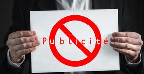 Publicité : la rumeur de la levée de l'interdiction démentie par l'Ordre