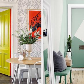 6 façons de relooker une porte
