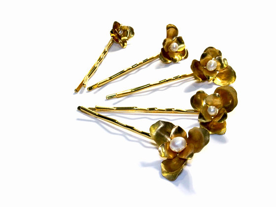 Bize Blossom Hairpin Set of 6