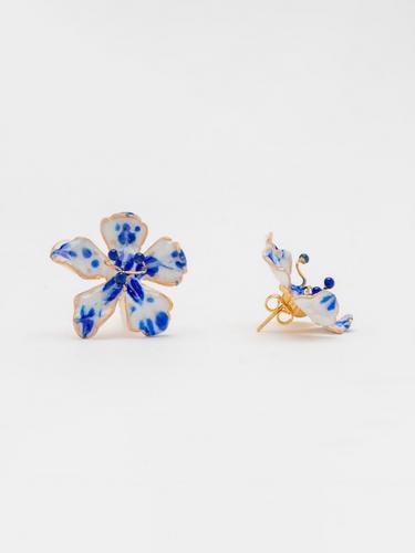 FREESIA BLUE EARRINGS