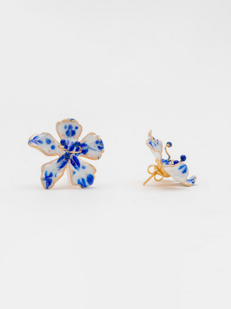 FRESSIA BLUE EARRINGS