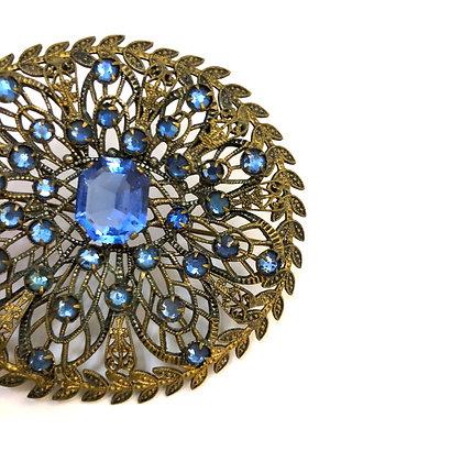 Something blue brooch