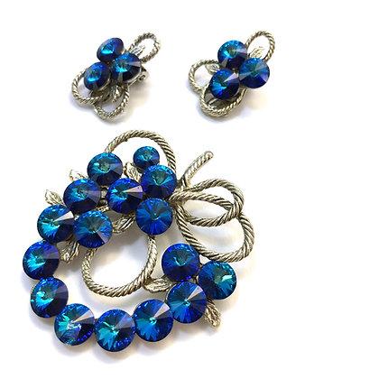 Vintage blue set