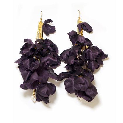 Echo earrings - Purple (Small)