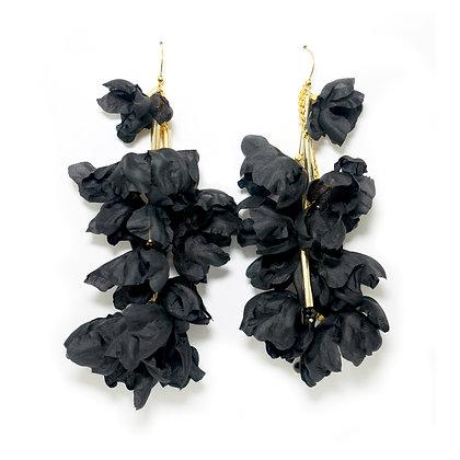 Echo earrings - Black (Small)