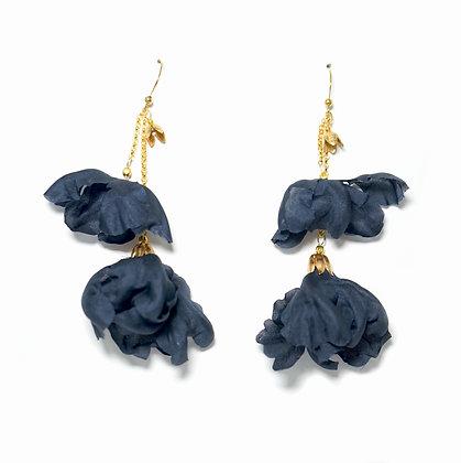 Ailion Earrings - Navy