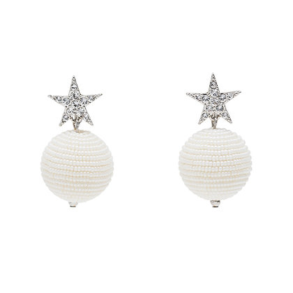 COCO large ball earrings