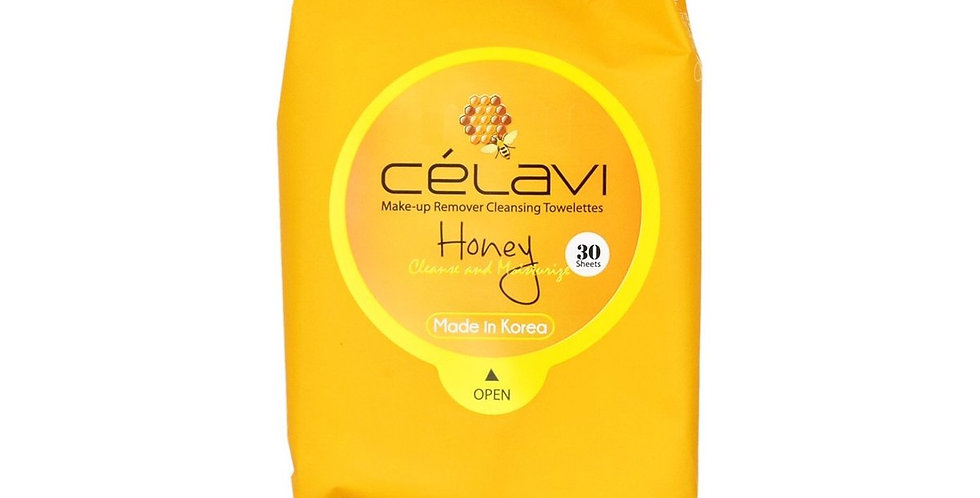 Celavi Honey Cleansing Wipes