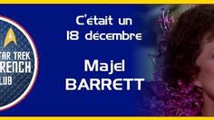 Commémoration du décès de Majel Barrett