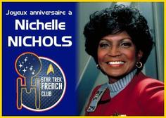 Anniversaire de Nichelle Nichols