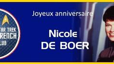 Anniversaire de Nicole de Boer