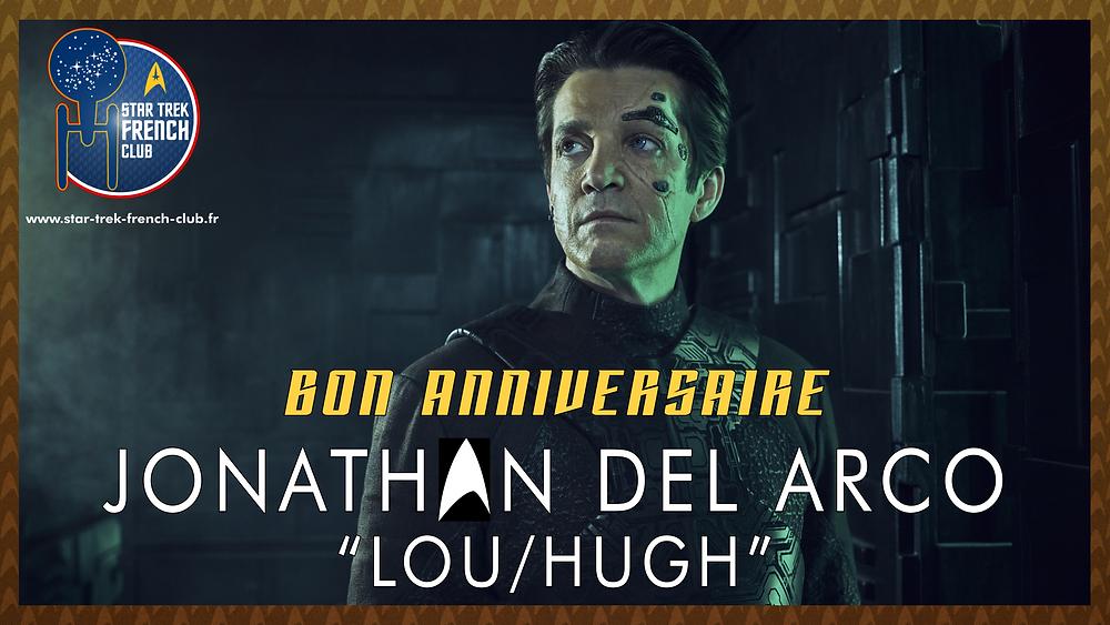 Anniversaire de Jonathan del Arco, ici en tant que Lou (Hugh) dans la série Star Trek: Picard.