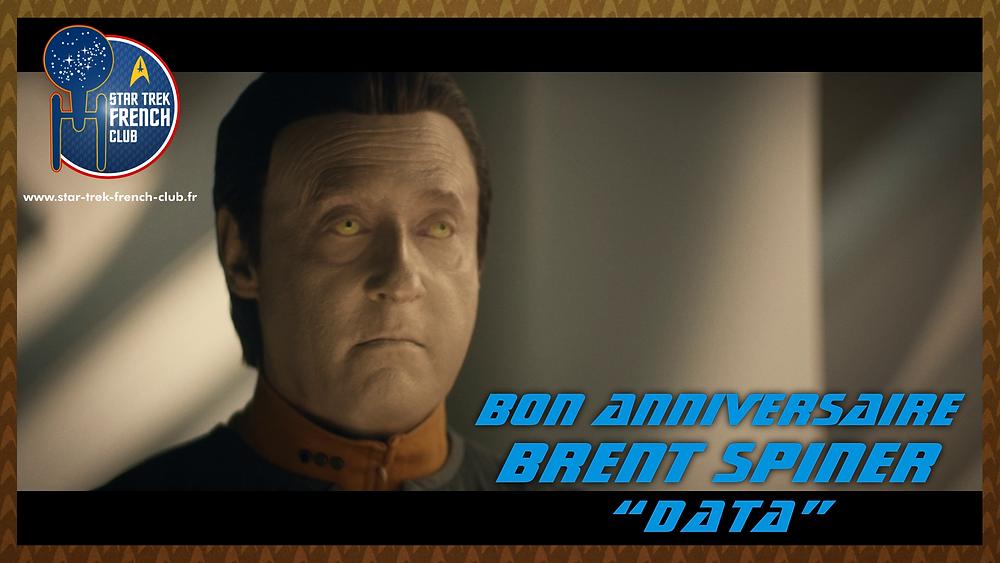 Anniversaire de Brent Spiner, ici en tant que Data dans la nouvelle série Star Trek: Picard.