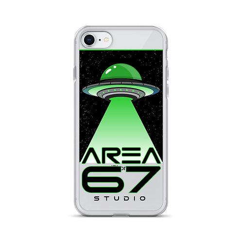 Area 67 UFO iPhone Case