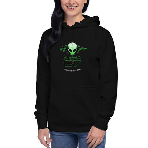 Area 67 - Sound Waves Hoodie