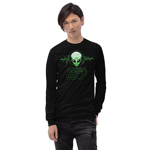 Area 67 Alien Wavs Men's Long Sleeve Shirt