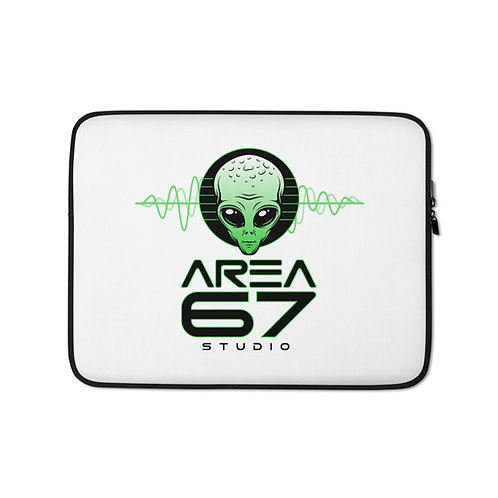 Area 67 Alien Wav - Laptop Sleeve