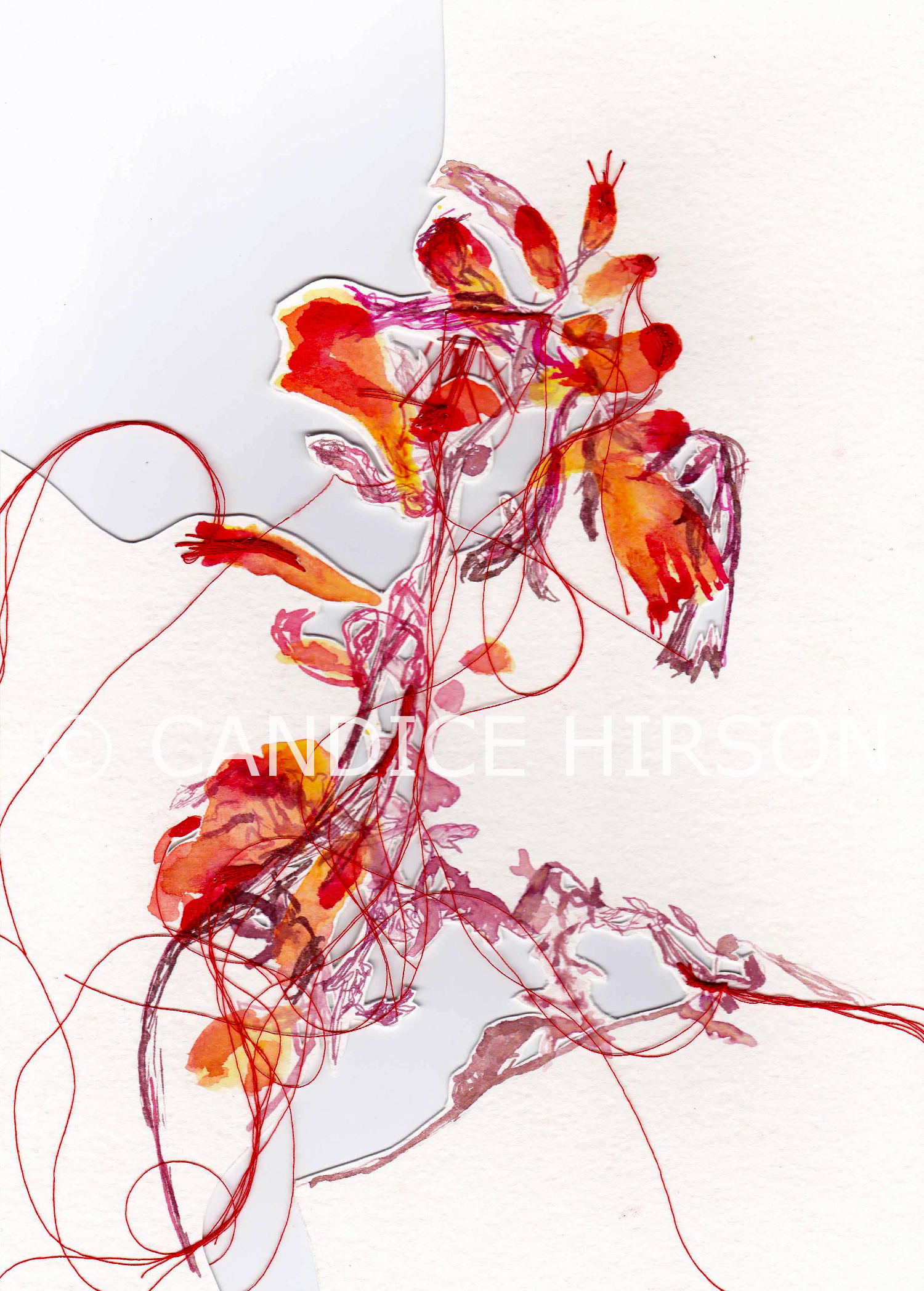 Candice Hirson Art flower 47