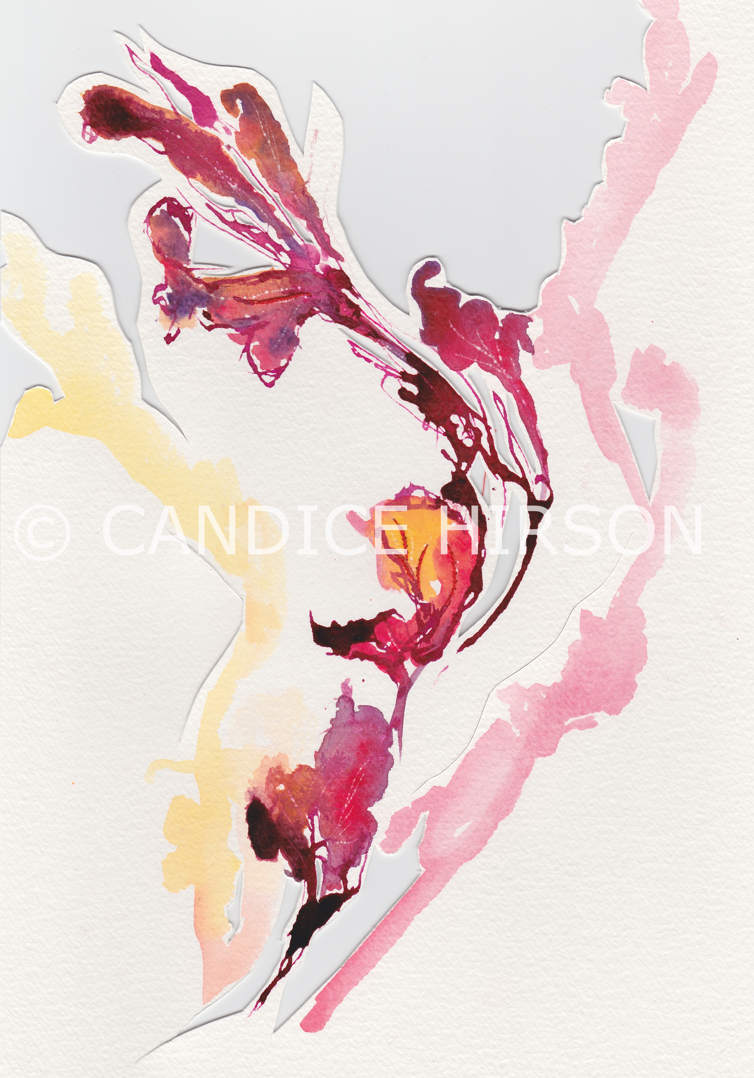 Candice Hirson Art flower 15