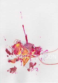 Candie Hirson Art flower 1-