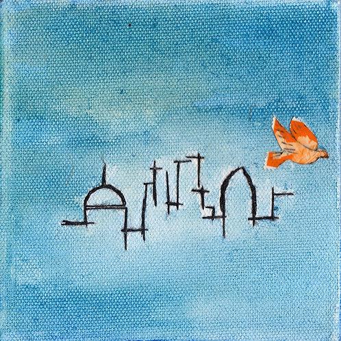 Skyline with Bird