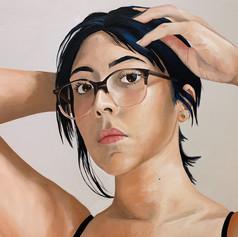 Self Portrait 2020 (Pulling My Hair Back)