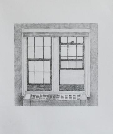 Studio Window (Half Open)