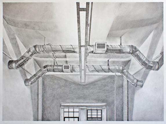 Studio Ceiling at 3:30 PM