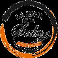 Logotipo de comida asiática La ruta de la seda.