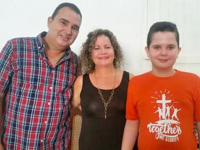 Felipe and Rayda Guerra, Guayos, Cuba
